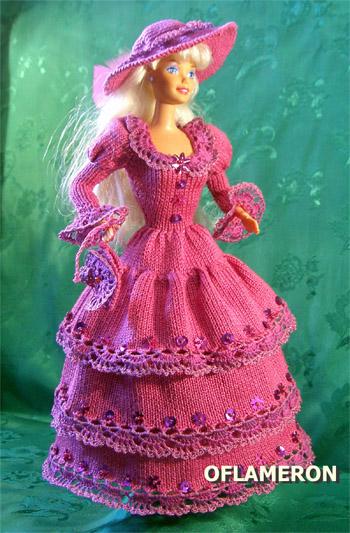 костюмы для кукол Барби